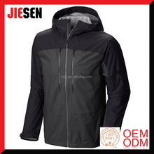 2017 New Design Fashional Waterproof Breathable Rain Jacket