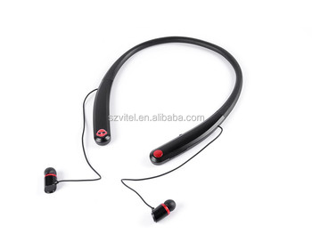 Best Quality Fashion Neckband Style Stereo Sound Magnet Wireless Bluetooth Headphone for Latest 5g Mobile Phone