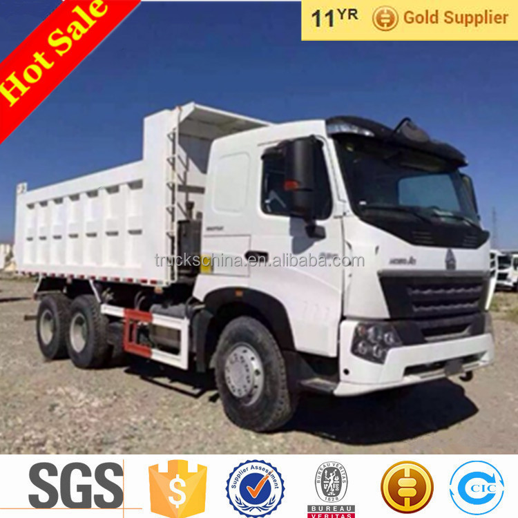 SINOTRUK HOWO A7 6x4 30 tons Sand Tipper Dump trucks For Sale