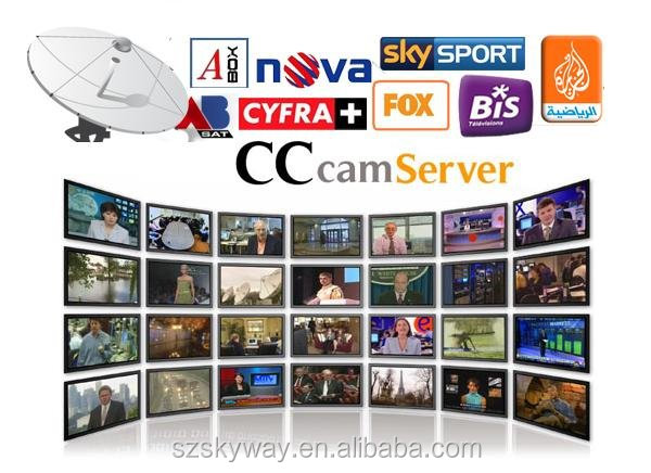 linux Set top box receivers cccam cline for Europe openbox/skybox