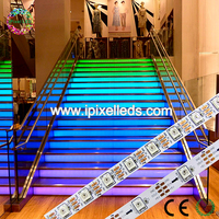 5050 rgb 60 led ribbon,ws2812b addressable full color led strip