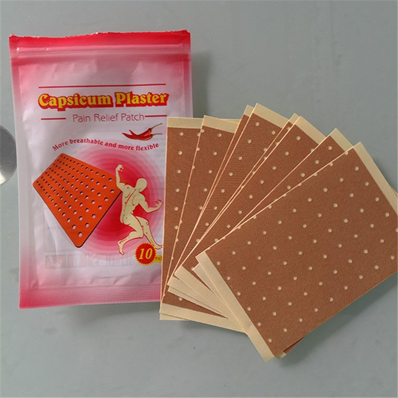 Chinese factory OEM service Capsicum Plaster Infrared Magnetic Pain Relief Patch medical herbal muscle pain relief patch