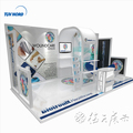 Detian Offer exhibition booth display stand modular system booth 3x6