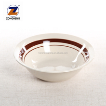 custom color wholesale stoneware ceramic mixing soup salad bowl set