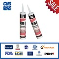 High yield pressure silicone adhesive sealing sealant
