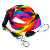 Custok Beautiful Multi Color Rainbow Neck