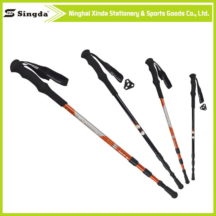 Super light 3 section walking pole