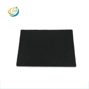 Multi size wholesale impregnated  filter cloth sheet carbon fiber hood