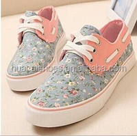 HC-LH8704 Popular vulcanized rubber canvas shoes for ladies / new arrival vulcanized shoes for outdoors