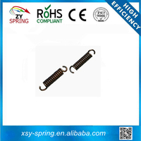 zinc plated clutch plate high tension extension spring