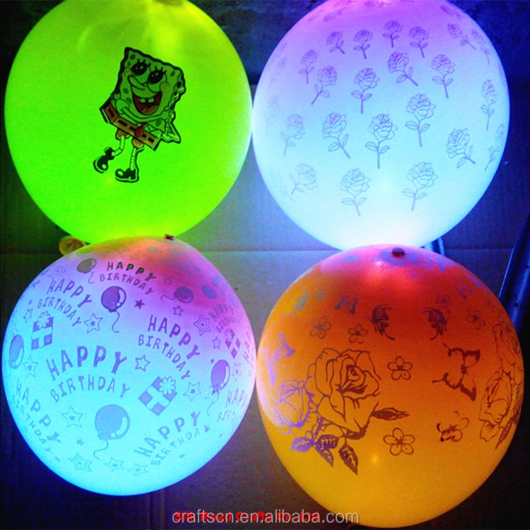 Various printing advertising led balloons for decoration