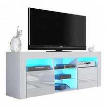 MORDEN HIGH GLOSS TV STAND WITH LED