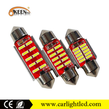 Car Accessories Side Marker Door Lamp C5W LED Festoon 39MM 3014SMD Dome Light Interior 12V Lamps Canbus No Error