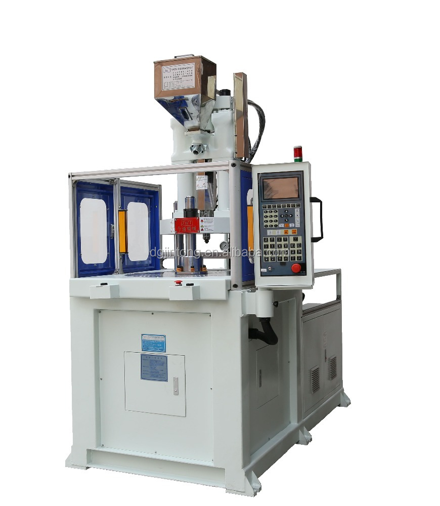 rotary table vertical plastic injection molding machine 40T