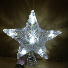 New Christmas Decoration 3D LED Star Motif Lights