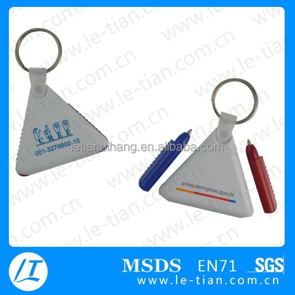 LT-Y853 fancy office stationery items names triangle shape pen
