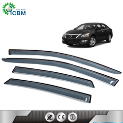 Sophisticated technology visors wind deflector door plastic car window custom visor for ALTIMA 13-15