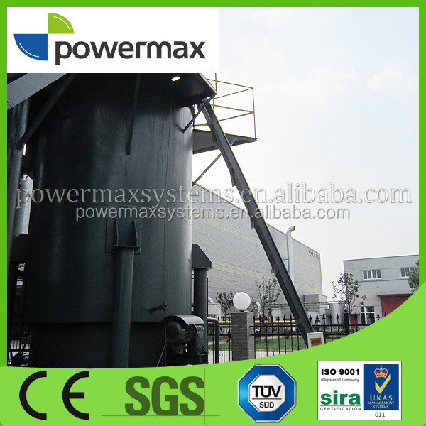 Energy saving environmental friendly wood gasifier for sale