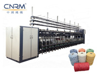 Professional ringing Cotton mop yarn machine/ open end mop yarn twisting machinery