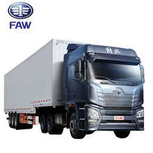 low price Chinese FAW 6*4 tractors trucks and trailers
