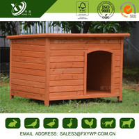 Beautiful appearance easily clean dog house outdoor