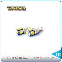 W5W 194 T10 5 pcs SMD 5050 3 chip Car led light