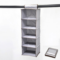 5 Tiers Cardboard Drawer Storage Cabinet Without Door