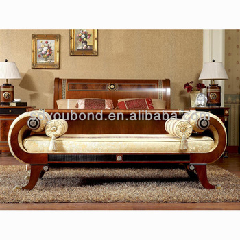 0010 High Quality Bedroom Benches Solid Wood Classic Solid