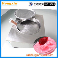 professional one pan ice crem frying machine /fried ice cream machine for sale