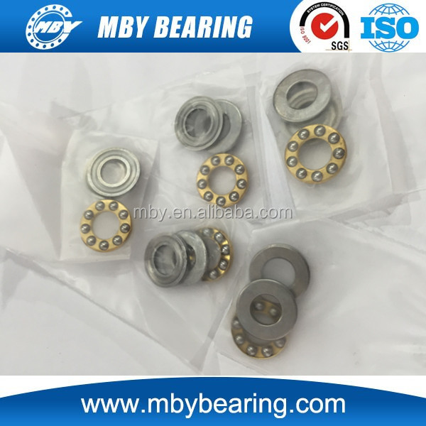 Miniature thrust ball bearing F6-12M used for hinge-type door closer
