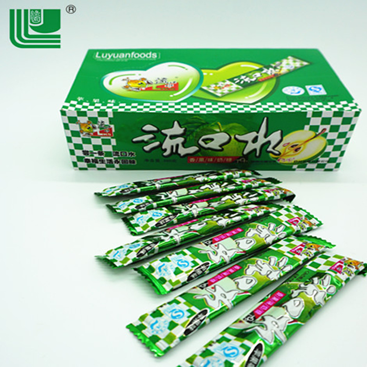 Wholesale fruit flavors candies candy milk for children