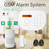 China cheap gsm wireless alarm system with app control,support link with IP camera for real time monitoring