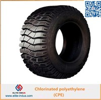 Chlorinated polyethylene, impact modifier CPE 135A mainly for ABS,plastic pipe etc