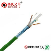 Pass Fluke Test 0.6mm CU Conductor FTP Network Cable Cat6