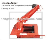 Sweep Auger of flat bottom silo
