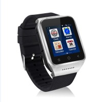 Android OS v4.4 Cheapest Wrist Watch With FM Radio With 1 Year Warranty