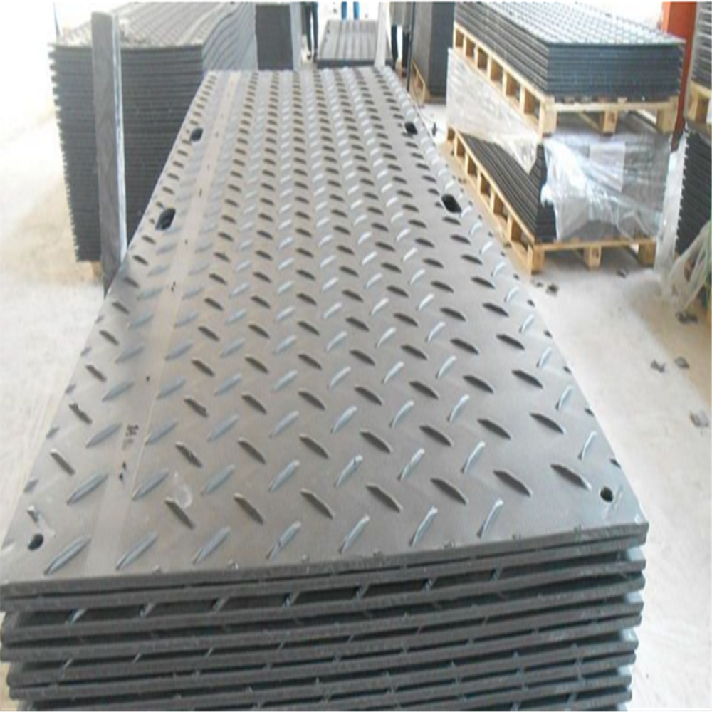Low price virgin UHMWPE/HDPE temporary road mats/construction road mats