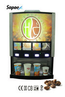Hot Coffee and Tea Machine with 4 Flavors SC-71204