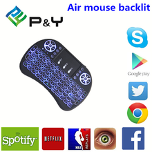 2017 New product Mini i8 Pro air mouse backlit Universal home use Remote Control with good price