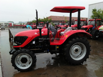 2017 hot sale farm tractor 80hp SWT804 with AC cabin for Africa market