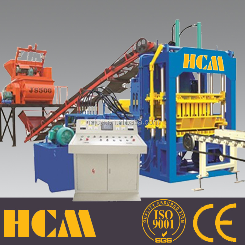 QT4-15 used concrete block making machine for sale