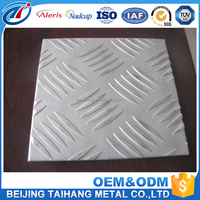 3003 / 5005 / 5052 / 5754 mirror diamond embossed aluminum plate / sheet