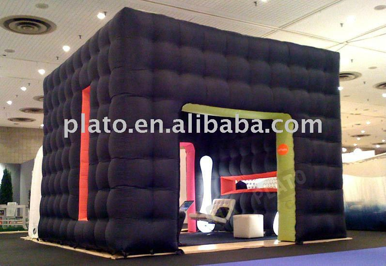 Inflatable Cube Tent suitable for outdoor and indoor/inflatable room for advertising and promotion/inflatable room