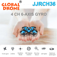 JJRC H36 2.4GHz 6 Axis Gyro Mini Quadcopters Rc Drone Nano Helicopter Headless Mode 3D Rollover Remote Control flying toys RTF