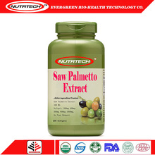 Wholesale gold standard saw palmetto extract softgel capsules with private label