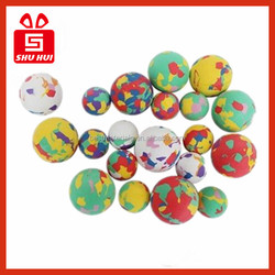 Small bouncy balls machine stitched soccer ball size 4 giveaways soft foam soccer ball