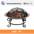 Patio Garden Heater Outdoor Folding Black firepit cast iron