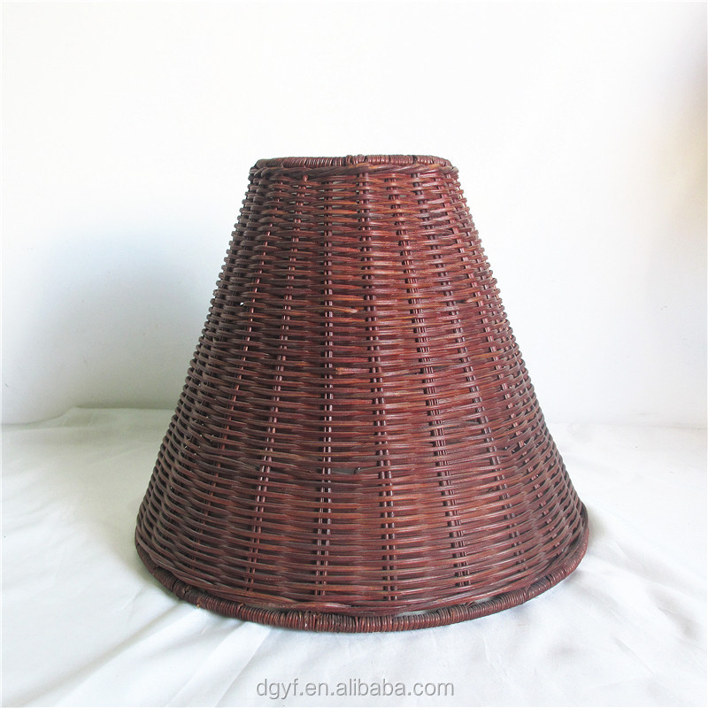 wicker lampshade,bamboo rattan lining white lamp shades for hotel floor lights