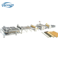 High quality woodworking machinery line cold panel paper laminating machine