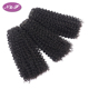 Malaysian Hair Extension Cuticle Aligned Curly Human Hair Weave Bundles Styles For African American